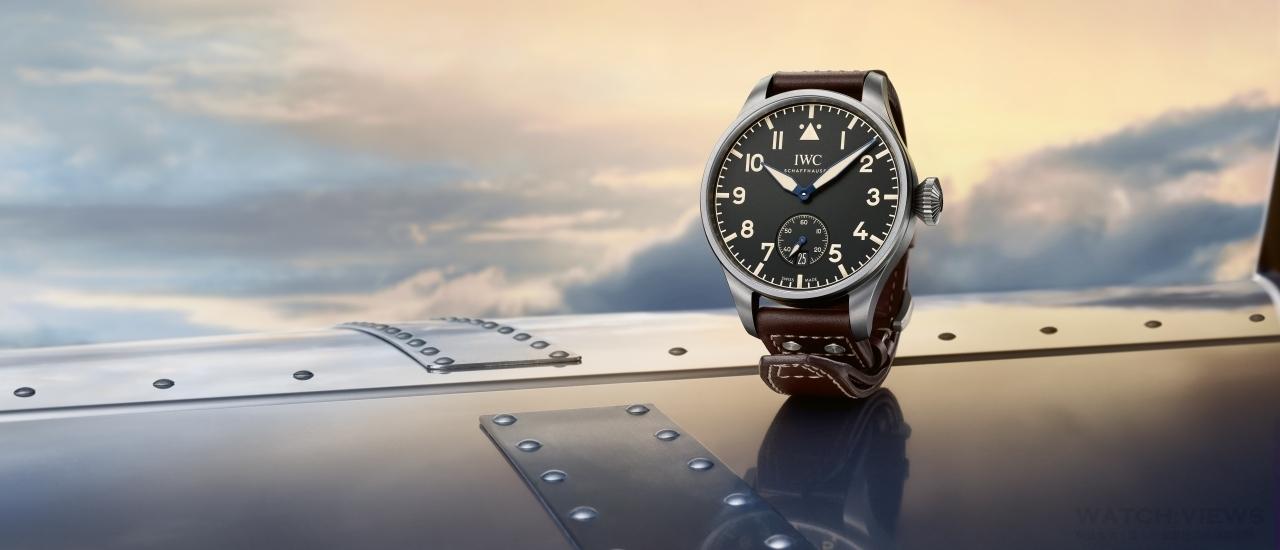 空戰英雄的懷舊記憶:IWC Big Pilot's Heritage Watch大型飛行員傳承腕錶