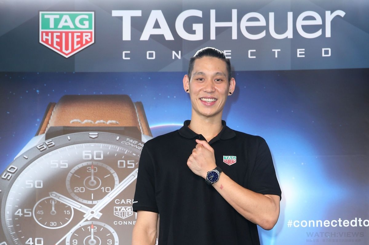 TAG Heuer Connected Watch伴隨林書豪旋風正式在台上市