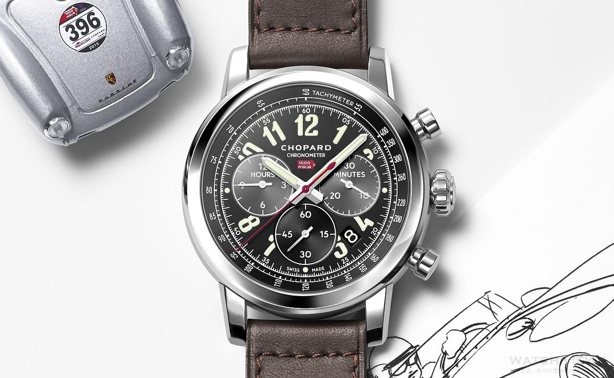 向「世上最美麗賽事」致敬:蕭邦Mille Miglia 2016 XL Race Edition腕錶
