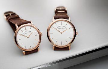 全新設計的雙指針腕錶:朗格最纖薄錶款——Saxonia Thin腕錶