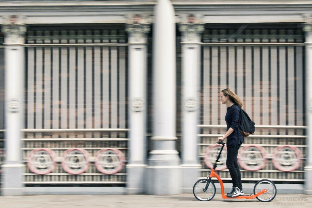 英倫時尚通勤新概念:踏上Swifty Scooters ,城市冒險就此展開