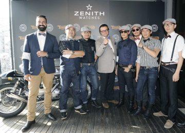 腕錶‧重機‧紳士風──Zenith全球CEO暨總裁Aldo Magada來台展現Heritage Pilot Ton-Up腕錶的騎士精神