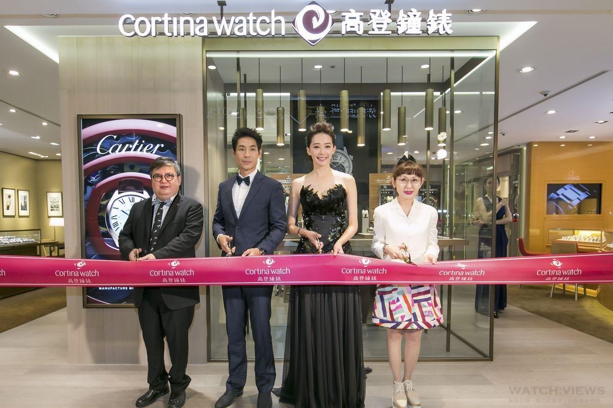 展現傳世錶款,高登鐘錶遠企店隆重開幕