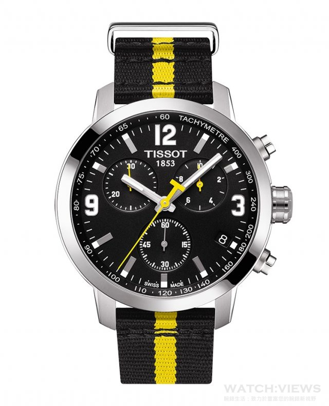天梭PRC 200環法自行車賽特別版腕錶,議售價NT$14,800