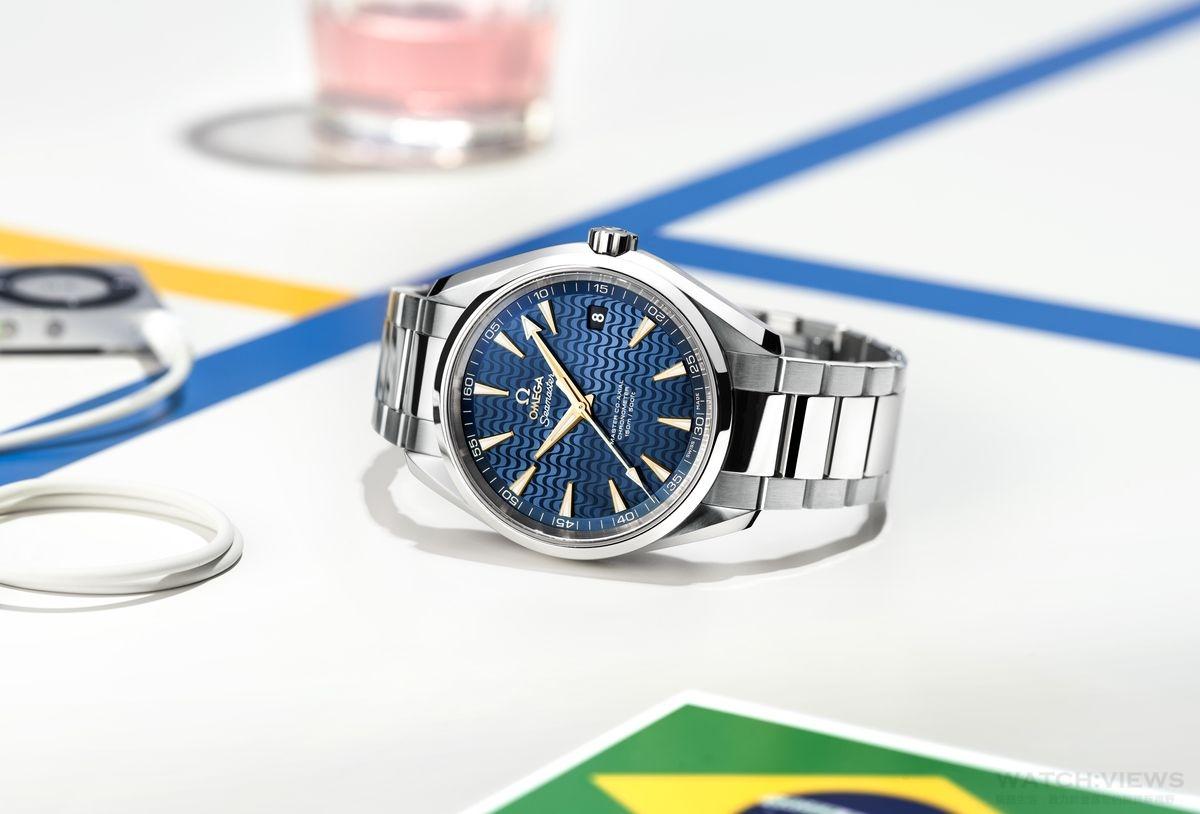 2016 奧運官方計時夥伴OMEGA 推出全新SEAMASTER海馬AQUA TERRA特別版腕錶 歡慶2016里約奧運盛會