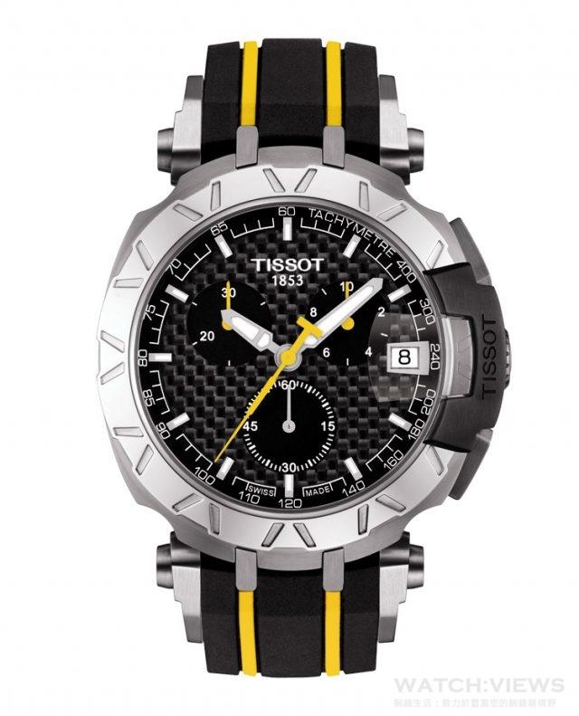天梭競速環法自行車賽特別版腕錶,建議售價 NT$22,900