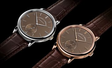 同色異調:A. Lange & Söhne Saxonia Automatic推出全新面盤色調