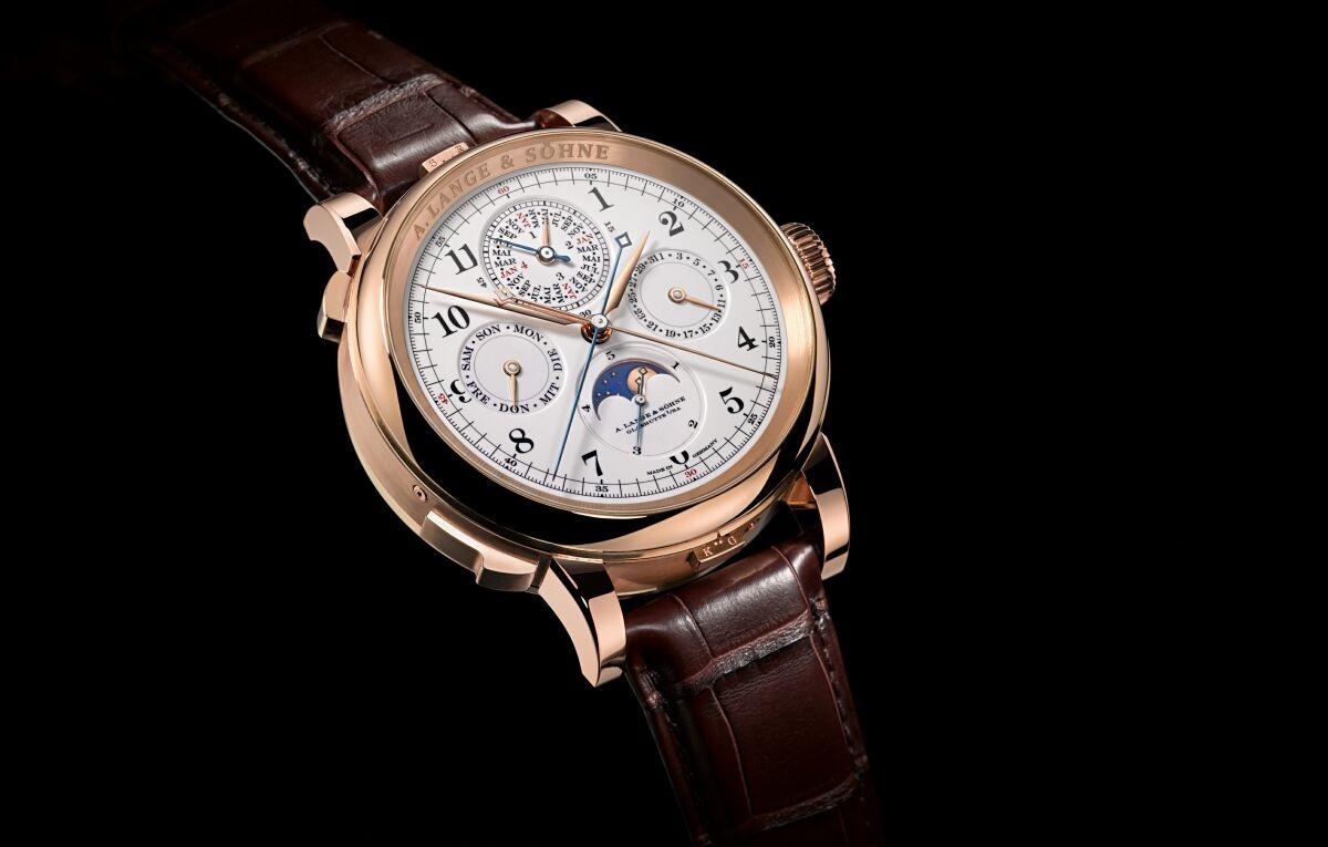 創始傑作:A. Lange & Söhne朗格向顧客交付首只Grand Complication腕錶