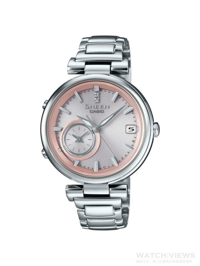 CASIO SHEEN TIME RING型號SHB-100D-4A,建議售價NT$10,900。