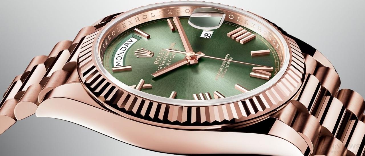 尊貴腕錶典範:Rolex Oyster Perpetual Day-Date腕錶