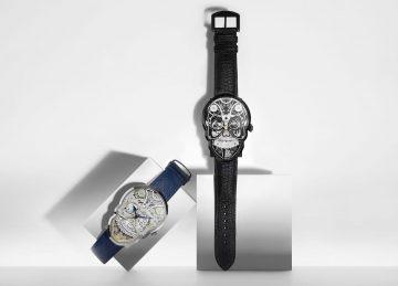 另一段生命的開始:Fiona Krüger骷髏腕錶