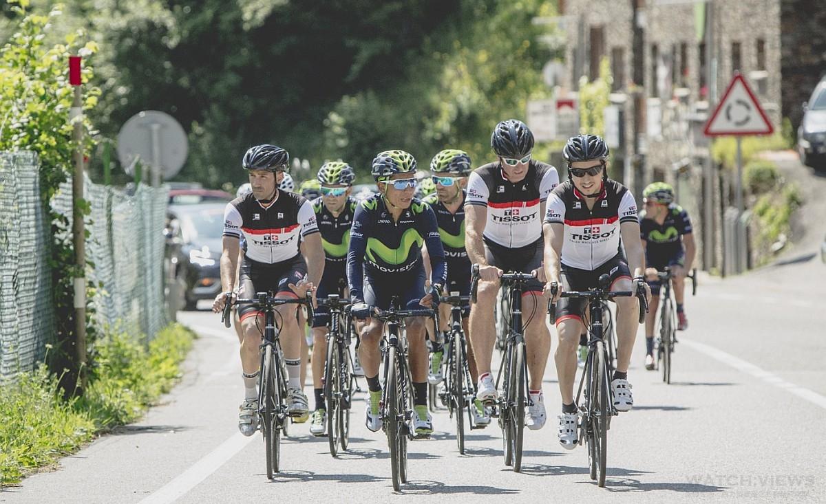 該是接受新挑戰的時候了,天梭表代言人 Jorge Lorenzo 加入環法自行車賽選手之列