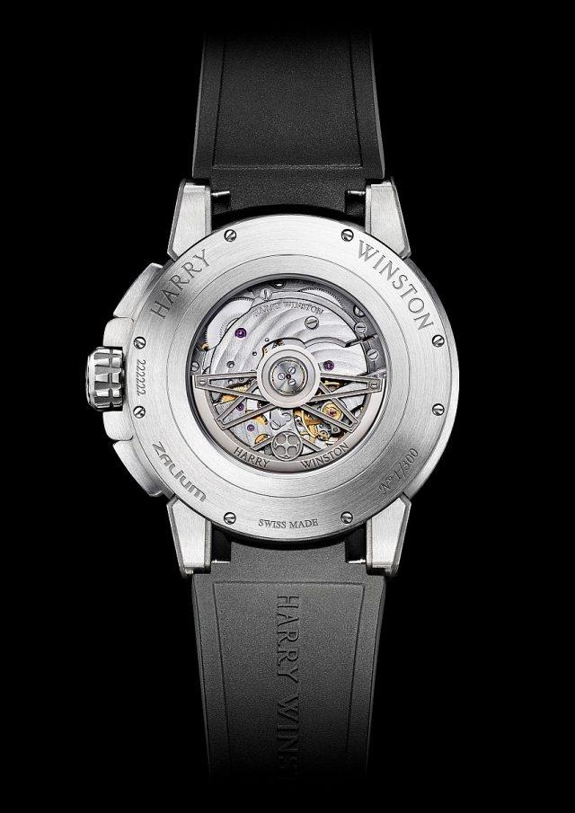 Project Z10腕錶搭載雙逆跳功能自動上鍊機芯。