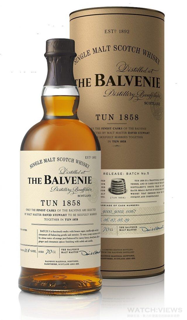 THE BALVENIE Tun 1858 Batch No.5 百富1858號桶第五批次單一麥芽威士忌 Bottle + Box