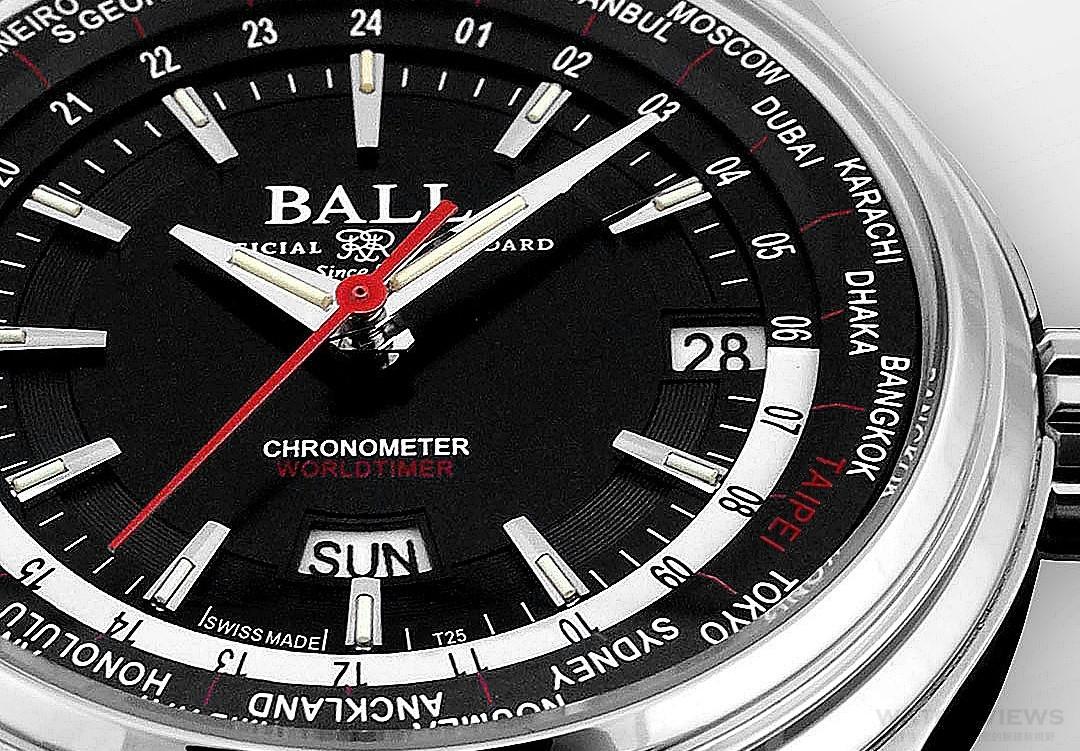 Ball Watch推出Trainmaster Worldtime腕錶台灣限量版,即日起接受線上預訂