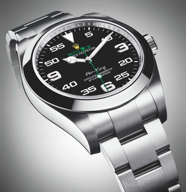 Air-King 腕錶配備3131 型自動上鏈機械計時機芯,品質超卓,技術創新,令腕錶精準可靠,無與倫比。