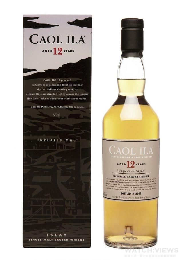 卡爾里拉〈Caol Ila〉12年單一麥芽威士忌將卡爾里拉帶有淡雅泥煤、細緻煙燻與青草、花香等特色的新酒,以上佳橡木桶陳釀12年後再精心調和而成。泥煤味淡雅,更多的細緻的泥煤香氣與上好初榨橄欖油的清新風味,是卡爾里拉的典型特色的代表,不可錯過。