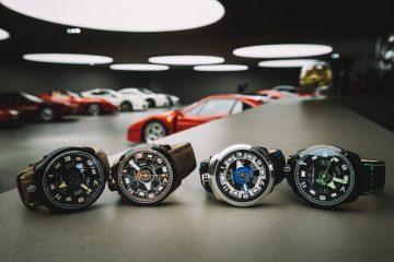 多層次立體感炸彈錶創造活潑有趣的表情:Bomberg BOLT-68 3-HANDS AUTOMATIC 自動大三針系列腕錶