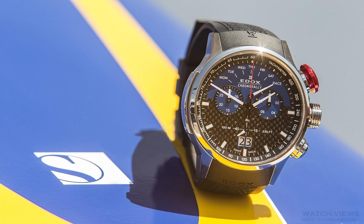EDOX擔任Sauber F1索伯車隊的官方腕錶合作夥伴,推出Chronorally F1索伯賽車限量錶