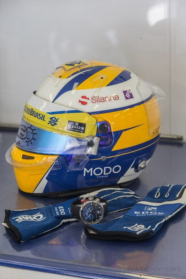 EDOX  F1索伯賽車限量錶