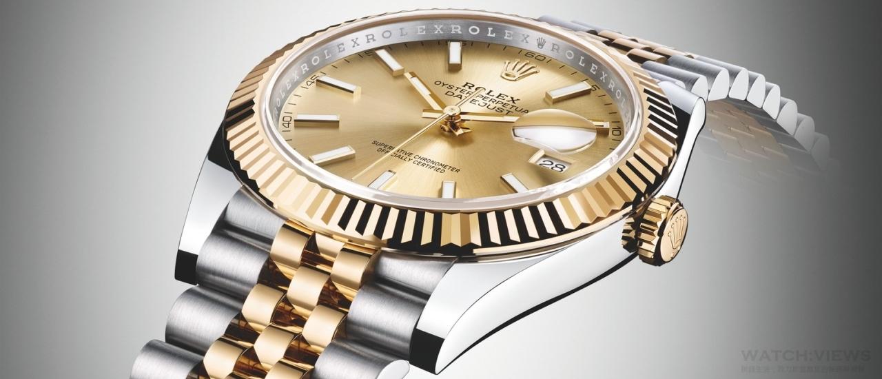 經典腕錶的典範:Rolex Oyster Perpetual Datejust 41蠔式恒動日誌型腕錶