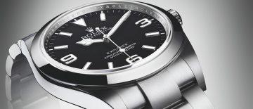 為征服巔峰而設計:勞力士Oyster Perpetual Explorer探險家型腕錶