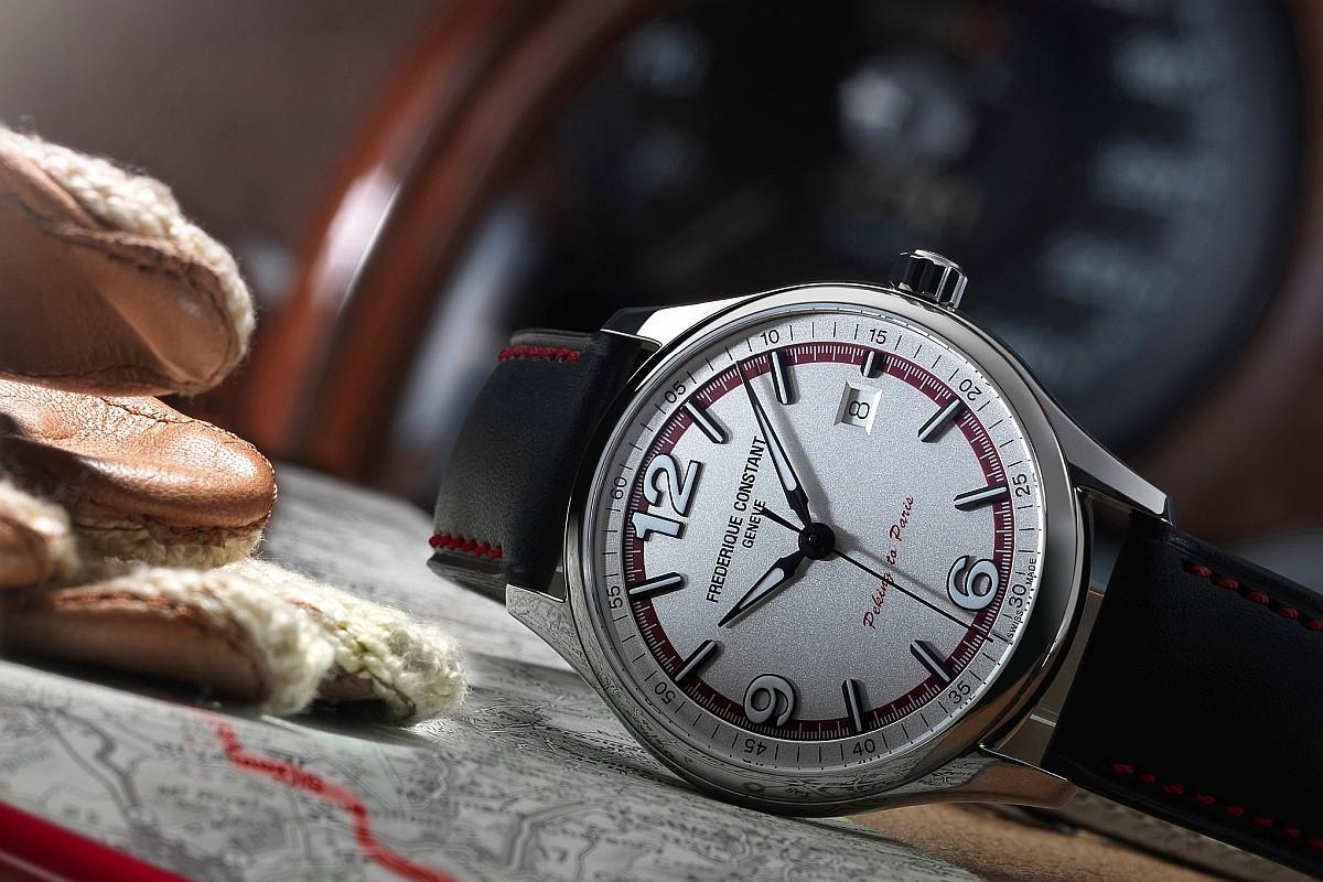 康斯登為「北京到巴黎汽車挑戰賽」推出限量版腕錶