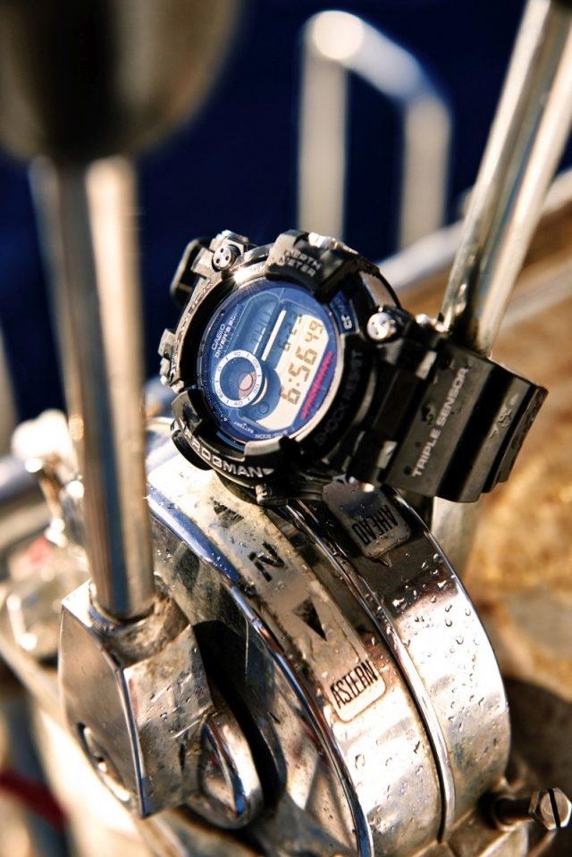 G-SHOCK FROGMAN潛水專用蛙王,型號GWF-D1000B-1,建議售價NT$35,000。