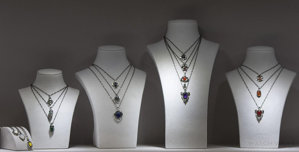 時光漫步於頸項,一生中最美麗的蒐藏:喬治傑生年度項鍊展