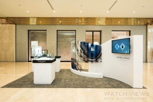 喬治傑生年度紀念項鍊快閃概念店注入品牌「藝術與設計」的核心價值,集結歷年經典之作的精華,以嶄新風貌讓消費者一窺品牌的傳世工藝的經典珠寶。