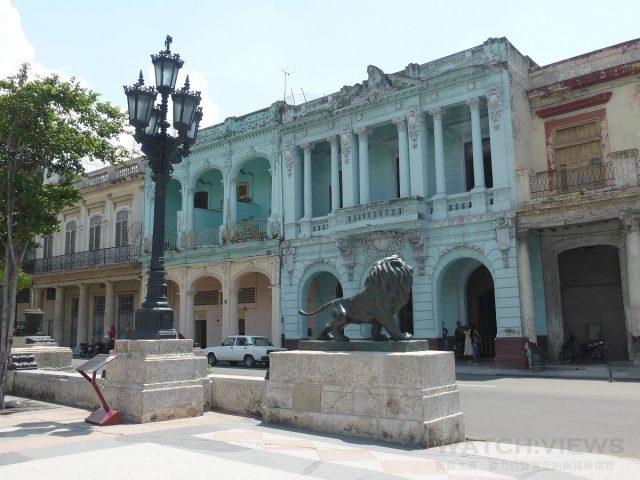 古巴曾經輝煌一時的經典建築