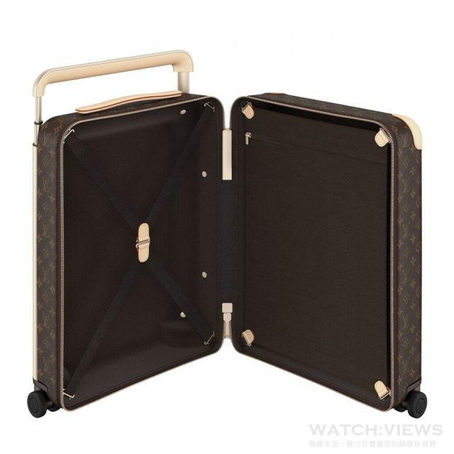 陽極化鋁合金做的強力結構支架從箱內被移到了箱外,不僅強化了結構本身,更改革提升了內部的收納空間,把原本行李箱中因結構支架所造成各種不方便的凹凸不平處全部移除,將原來該有的完整置物空間還給了行李箱。