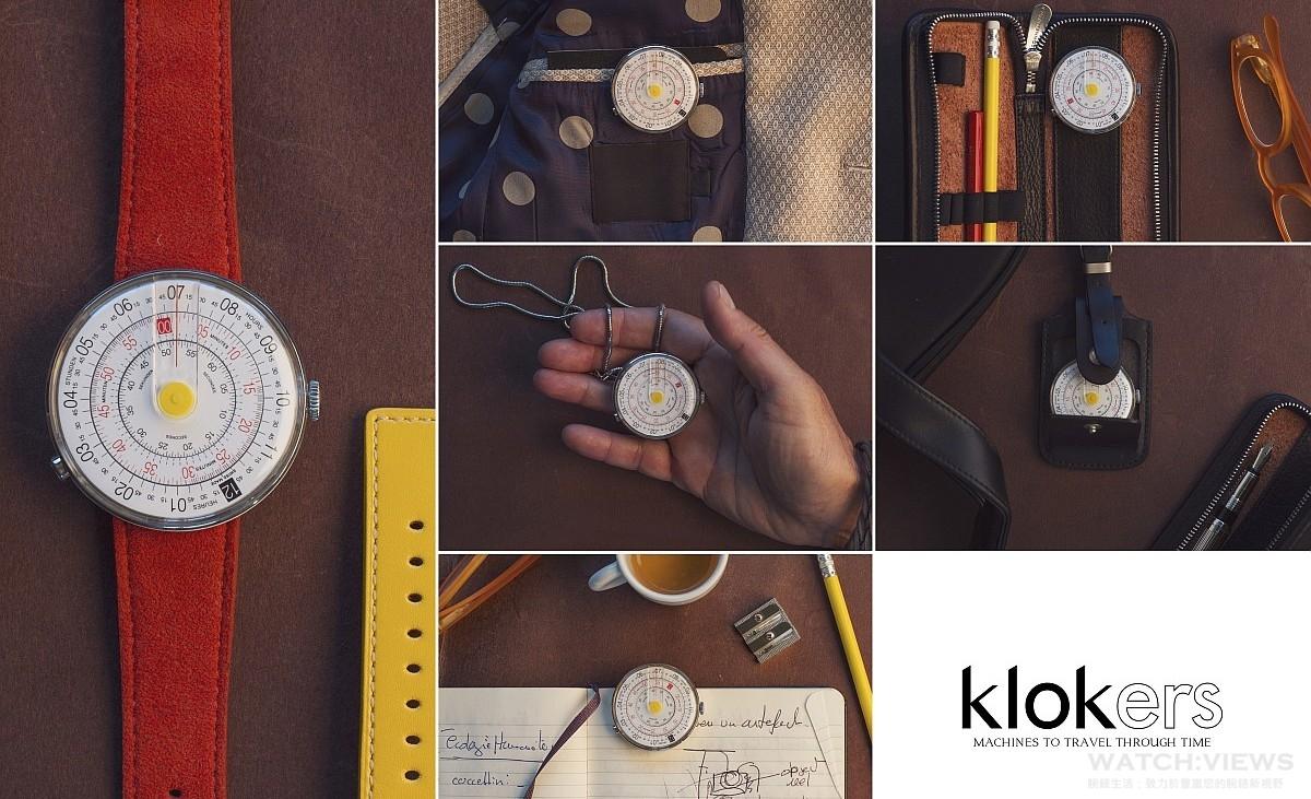 設計與製造陪伴旅人時間旅行的時計:Klokers