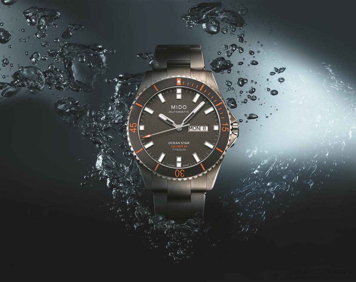 水中的燈塔:Mido全新海洋之星潛水腕錶