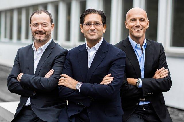 瑞士錶壇饒富盛名的Gouten 家族,於 2013 年入主Manufacture Royale,左起Alexis、Marc及David Gouten