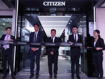 CITIZEN 台北旗艦店於忠孝東路4段50號1樓盛大開幕