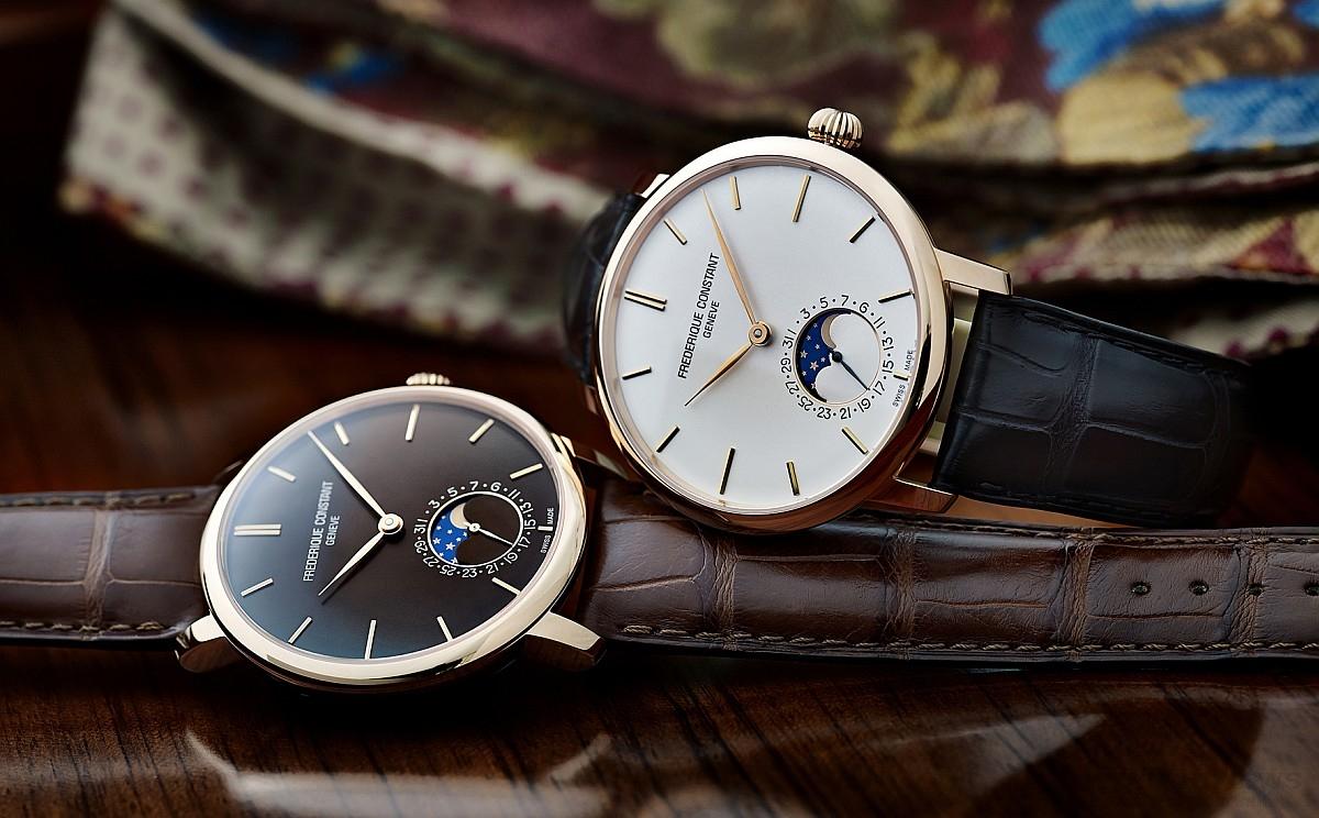 月圓人好:康斯登Slimline超薄自製機芯月相對錶