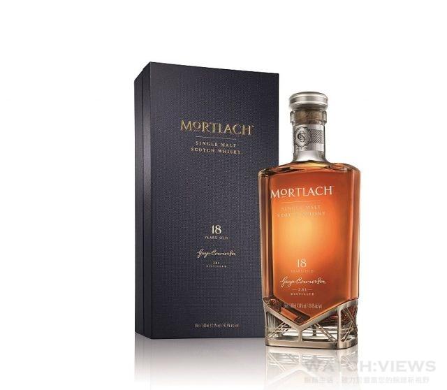 MORTLACH慕赫2.81 18年蘇格蘭單一麥芽威士忌於全台指定酒類專賣店,以及精選頂級酒吧和五星級飯店限量發售,臻藏價:$5,900元。