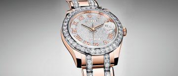 寶石鑲嵌腕錶系列之瑰寶:勞力士Oyster Perpetual Pearlmaster 39