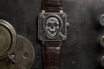 這麼酷,能不搶嗎?Bell & Ross BR 01 BURNING SKULL護身符腕錶