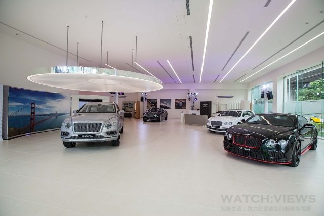 Bentley台北展示中心