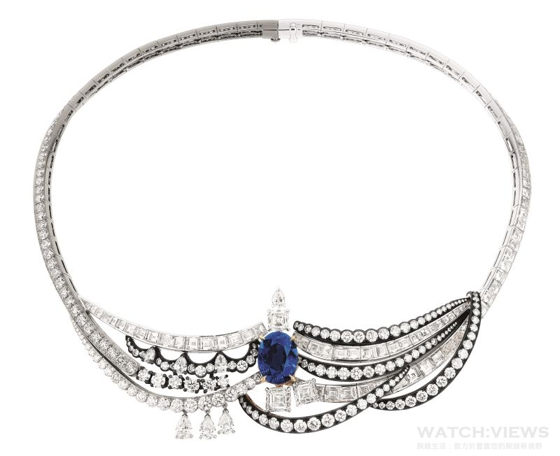 Dior 展12億高級珠寶 藍寶鑽鍊最逼人