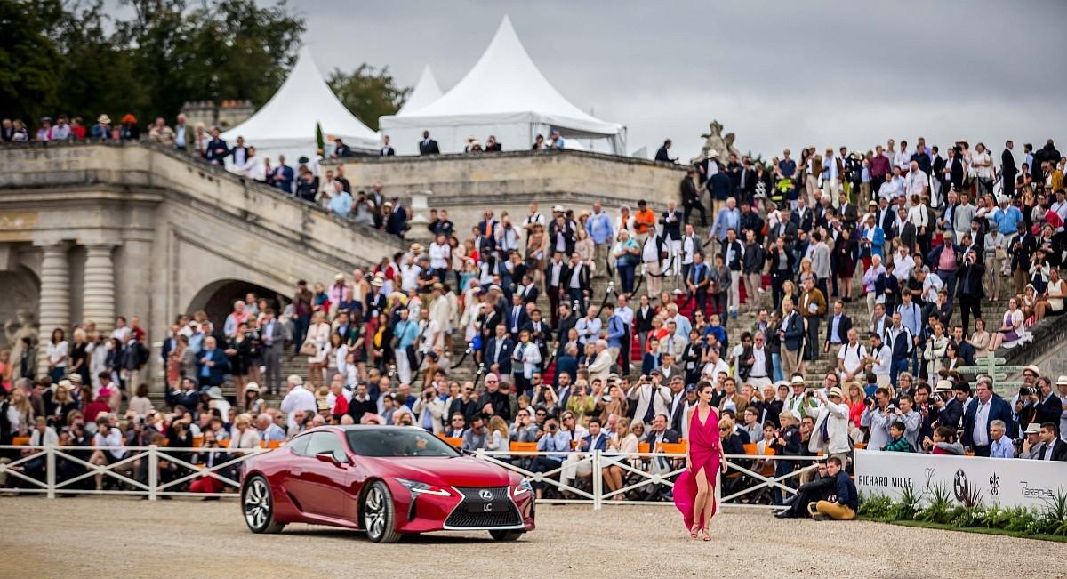 2016 Chantilly Arts & Elegance Richard Mille尚蒂伊古董車大展