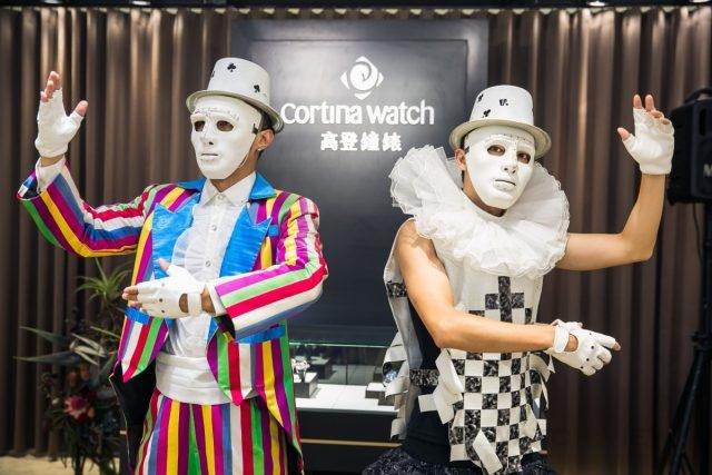 高登鐘錶x崑崙錶CORUM Bubble系列彩繪藝術展 雙人機械鐘錶舞蹈開場