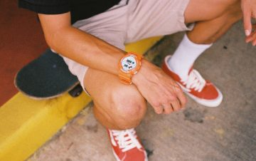 橘色浪潮來襲:G-SHOCK x IN4MATION 七度聯名新作 Milestones Timepiece多功能衝浪錶款席捲街頭時尚