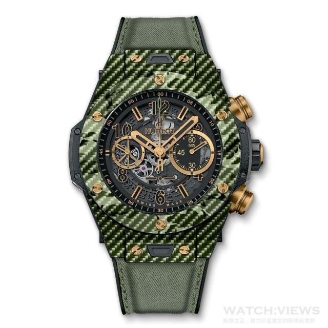 Hublot_Big Bang Unico Italia Independent Green Camo_NTD976,000