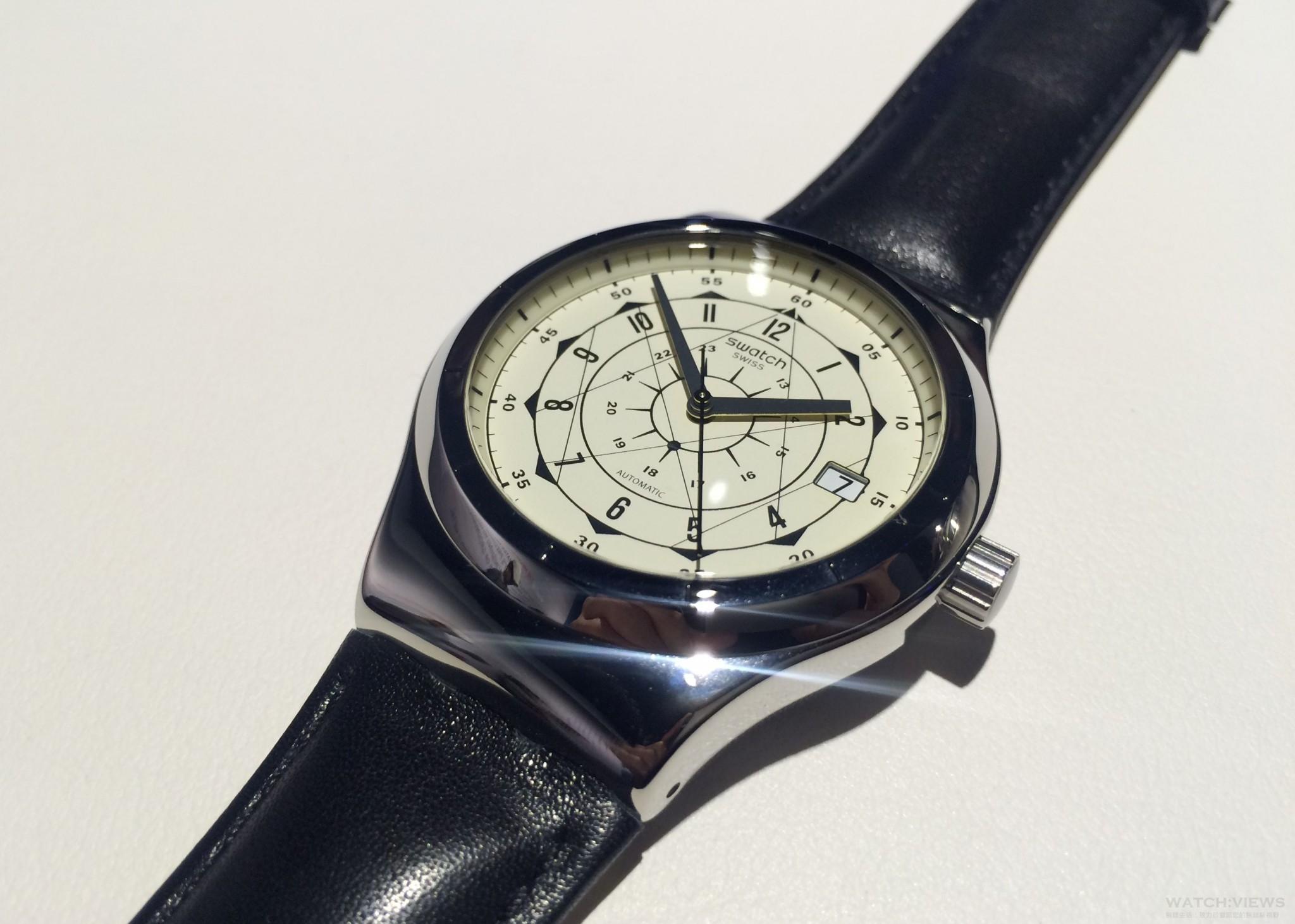 輕鬆入手機械錶:Swatch全新Sistem 51不鏽鋼系列腕錶