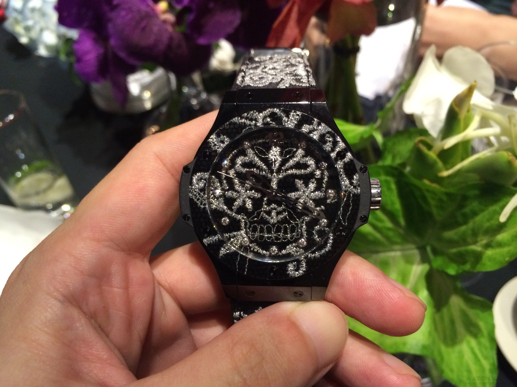 製錶與刺繡:Hublot以針作畫的美麗時計