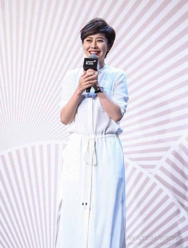 電影「北京遇上西雅圖」導演薛曉璐從容自信風格向萬寶龍「寶曦女性」致敬。