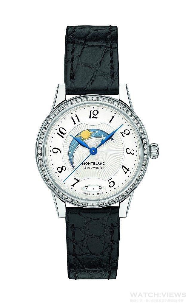 萬寶龍Bohème寶曦系列日夜顯示自動腕錶,NT$153,900。